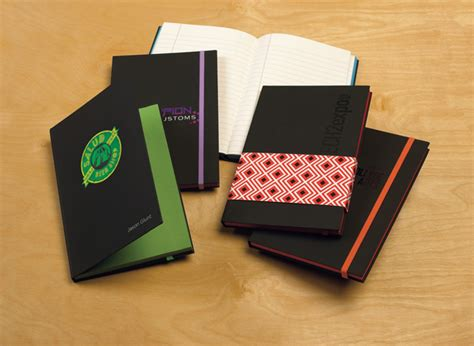 Multi Tasker Notebook Customized Imprinted Logo - personalized colorpop journals are eye catching giveaways