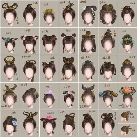 different era hair styles 37 best images about asian hairstyles on pinterest