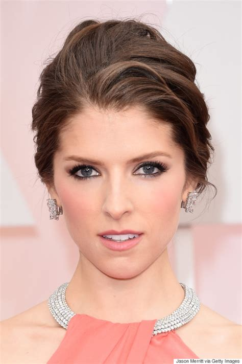 academy award hair styles oscars 2015 makeup was all about bold lips huffpost