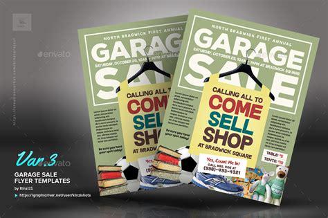 Garage Sale Flyer Templates By Kinzishots Graphicriver Garage Sale Advertisement Template