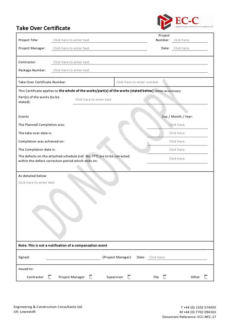 certificate of defects template certificate of defects template 28 images technical
