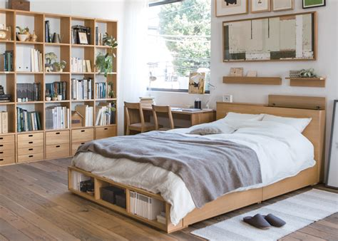 modernes japanisches schlafzimmer muji welcome to the muji store things
