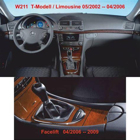 pomello cambio led ict pomello cambio cuffia led pelle mercedes e classe w211