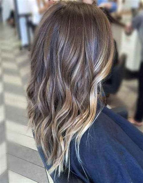 how long take for balayage 4 subtle balayage for long layered brown hair cut