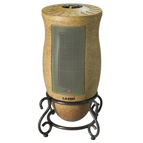best ceramic fan heater lasko designer series 1500 watt ceramic electric portable