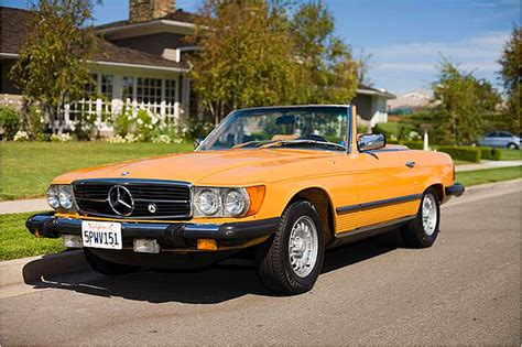 1980 mercedes 450sl classic cars today
