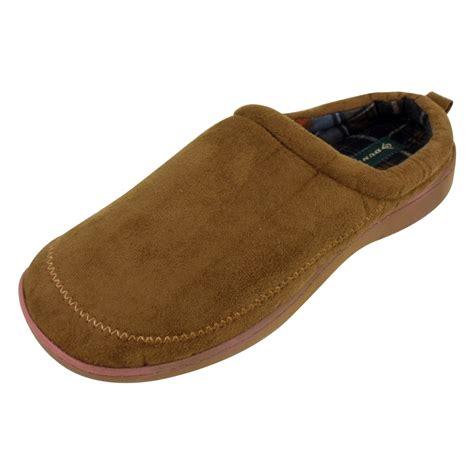 mule slipper mens dunlop luxury wide fitting mule slipper mules gents