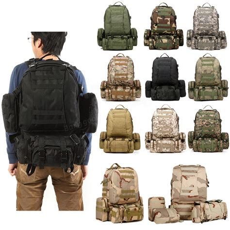 Tad Ransel Black Top Sales 55l tactical army backpack rucksack cing