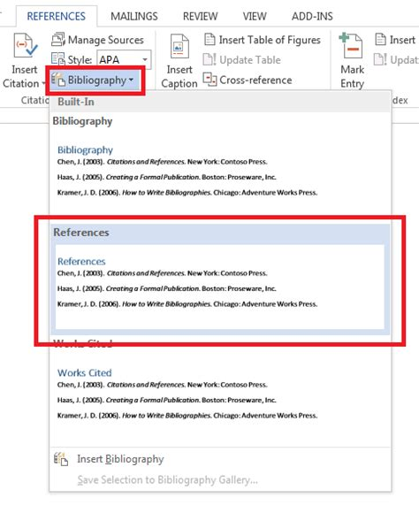 format apa reference page word q can i use microsoft word 2013 s references feature to
