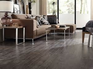 laminate flooring for living room with brown sofa