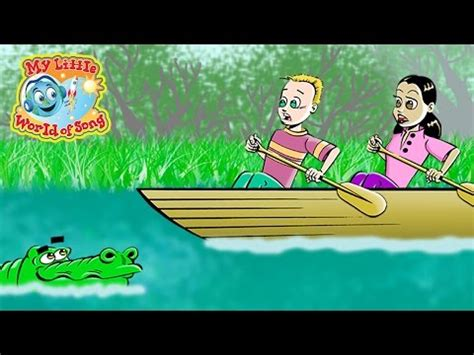 row row row your boat horror movie gt row row row your boat sing a long juzkidz cartoon