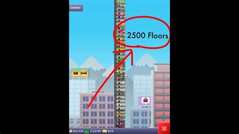 Tower Floors by Tallest Tiny Tower 2700 Floors New World Record 2018
