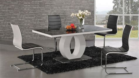 modern glass dining table modern dining table design dining tables ideas