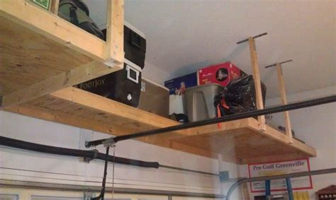 How To Make Hanging Garage Shelves by Garage Ceiling Storage Diy Garage Storage Ideas New