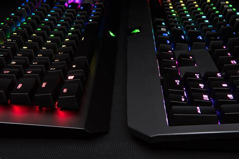 Keyboard Gaming Illusion Blacksteel Chroma Razer Blackwidow X Chroma Mechanical Keyboard