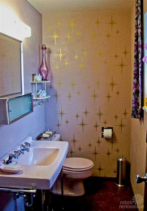 ways  add starbursts   mid century modern home