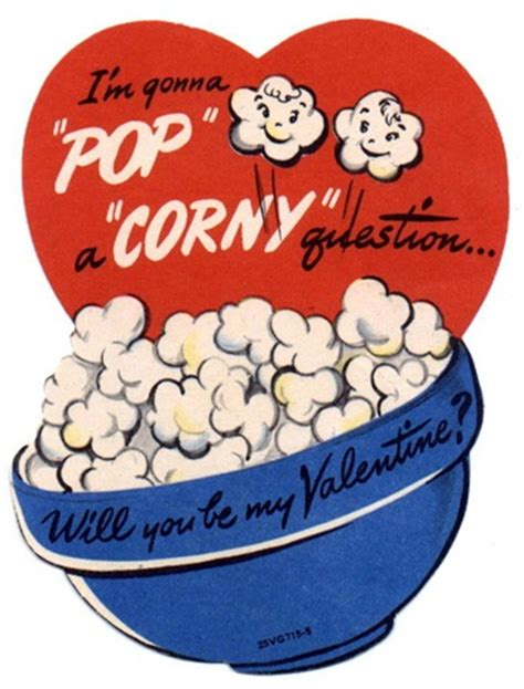 corny valentines day cards vintage s cards louise layla