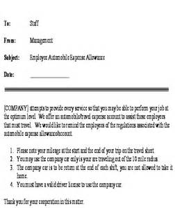 car allowance policy template best photos of car allowance policy templates company