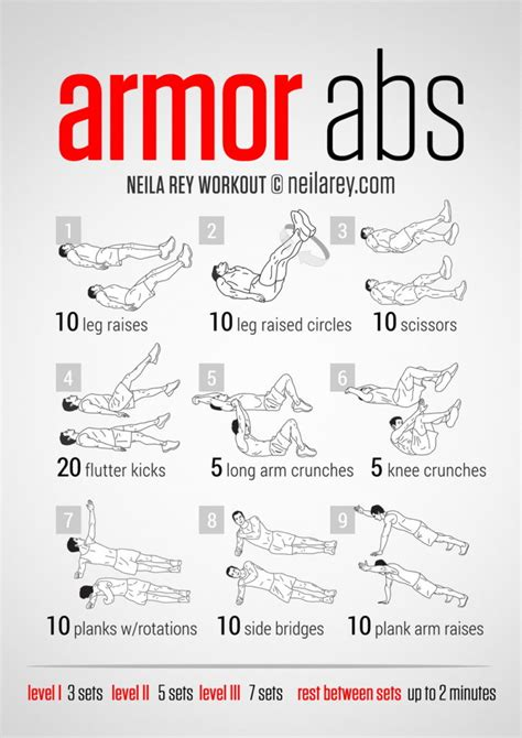 abs workout at home plan