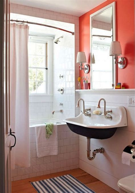 tiny color cute small bathroom house remodel pinterest