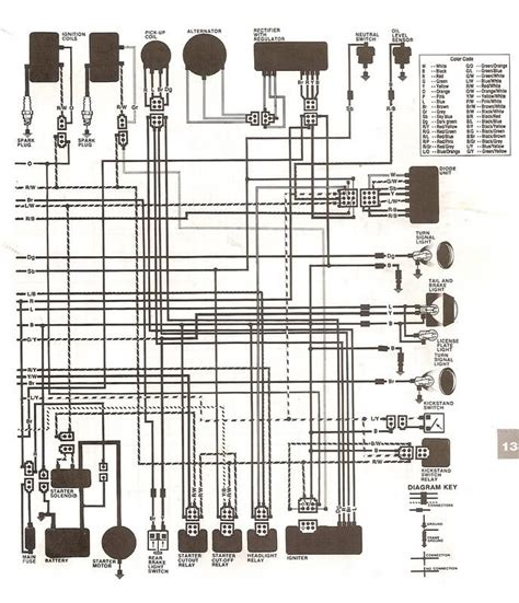 1981 yamaha virago xv750 ignition wiring diagram wiring