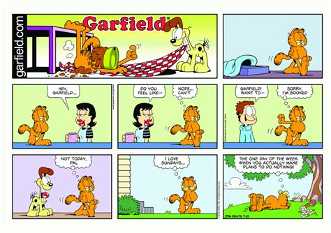 stick vet comics let s get one thing garfield