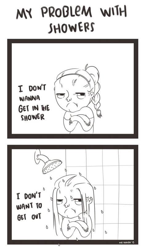 Meme Shower - my problem with showers jpg