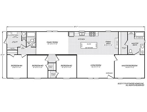 berkshire floor plan berkshire 24684b fleetwood homes