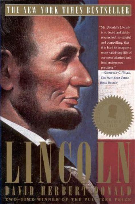Pdf Lincoln David Herbert Donald by Lincoln David Herbert Donald 9780684825359