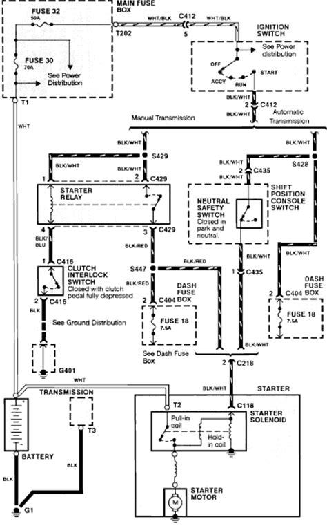 92 Honda Prelude Fuse Box Diagram 92 Integra Radiator Fan Relay Wiring Diagram Get Free