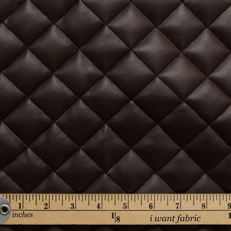 padded upholstery fabric quilted leather diamond padded cushion faux leather