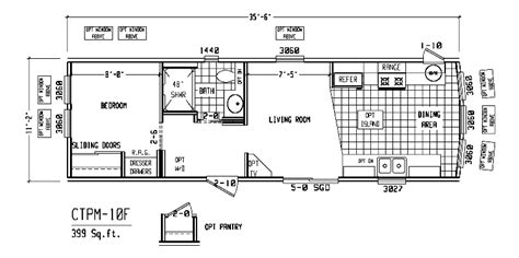 1 bedroom mobile homes floor plans single wide mobile home floor plans single wide homes