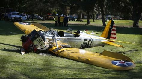 harrison ford plane crash harrison ford injured in plane crash news