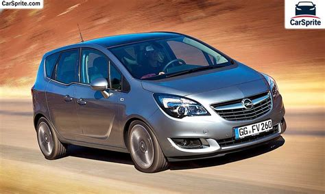 opel meriva 2016 opel meriva 2016 prices and specifications in car