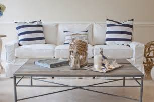 Ideas For Nautical Coffee Table Design Living Room Bring Summer Into The Living Room With Coastal Decoration Stylishoms