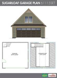 Plans For A 25 By 25 Foot Two Story Garage by Sugarloaf Garage Plan Kent Building Supplies
