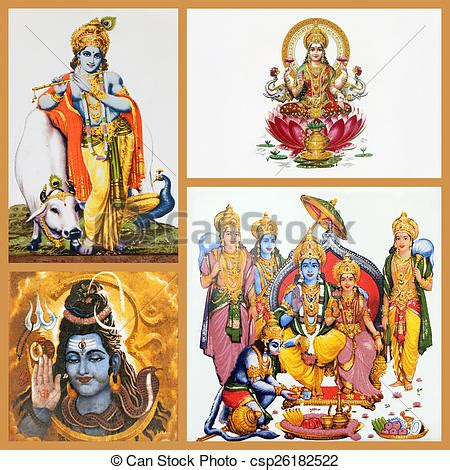 dioses tiles artculos sobre stock photo of hindu gods on ceramic tiles composition