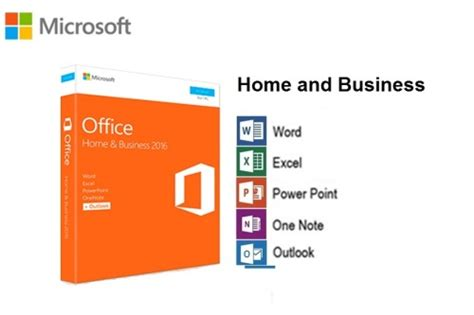 office business microsoft office 2016 home and