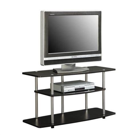 wide tv stand 3 tier wide tv stand espresso 131031es