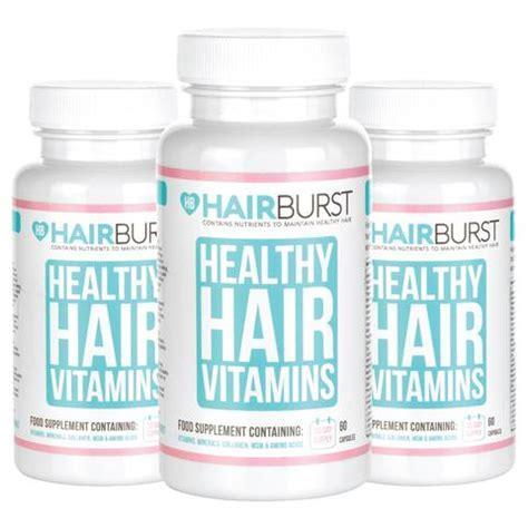 hair burst review hair vitamins for healthy longer hair growth hairburst