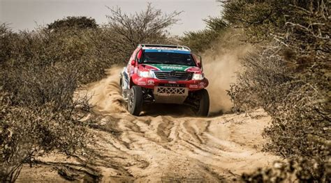 1st team toyota castrol team toyota 1st and 2nd in desert race prologue