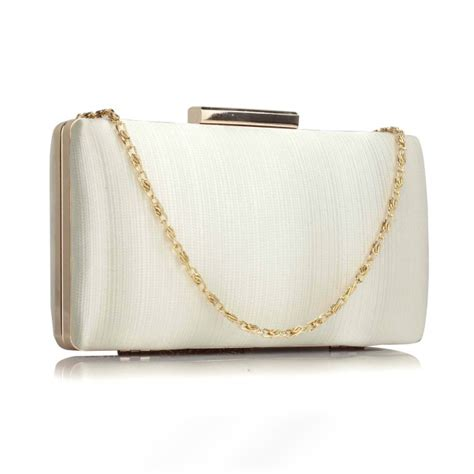 Wedding Box Clutch by Bridal Ivory Gold Clutch Bag Bridal Bags Accessories