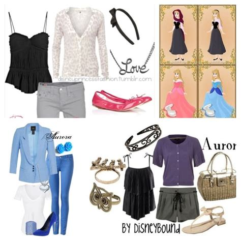 fashion inspiration walt disneys sleeping beauty aurora inspired outfits princesses pinterest outfit