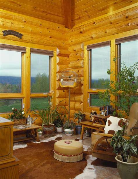 Log Cabin Treatment simple window treatment wood blinds log cabin ideas