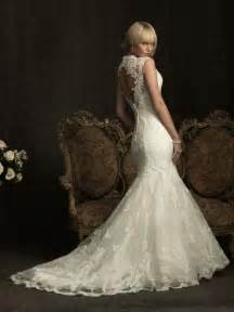 lace mermaid wedding dresses lace mermaid wedding dress ivory lace open back