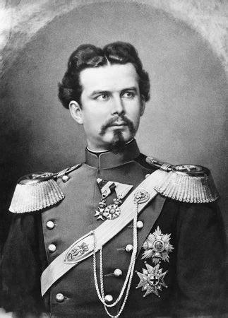 König Ludwig II. von Bayern, Fotografie von Franz