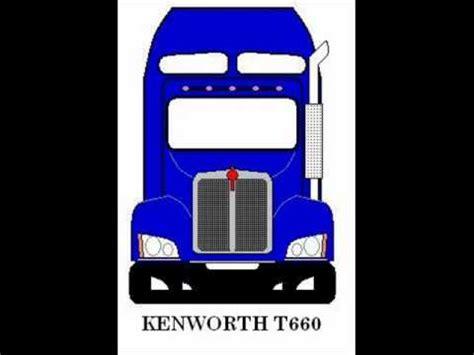partes de kenworth kenworth partes frontales de los modelos t300 a t800