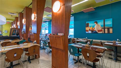 Turquoise Lava L by Construction Of The Turquoise Restaurant In Laval