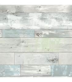 Shiplap Wallpaper Wallpops 174 Nuwallpaper Beachwood Peel And Stick Wallpaper