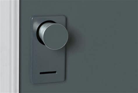 Hiding Door Knob by Disappearing Doorknob Concept